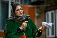 From Slain Cop's House, Mehbooba Calls For Dialogue With Pakistan To End Violence