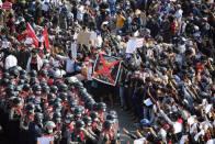 Two Protestors Shot Dead By Police In Myanmar