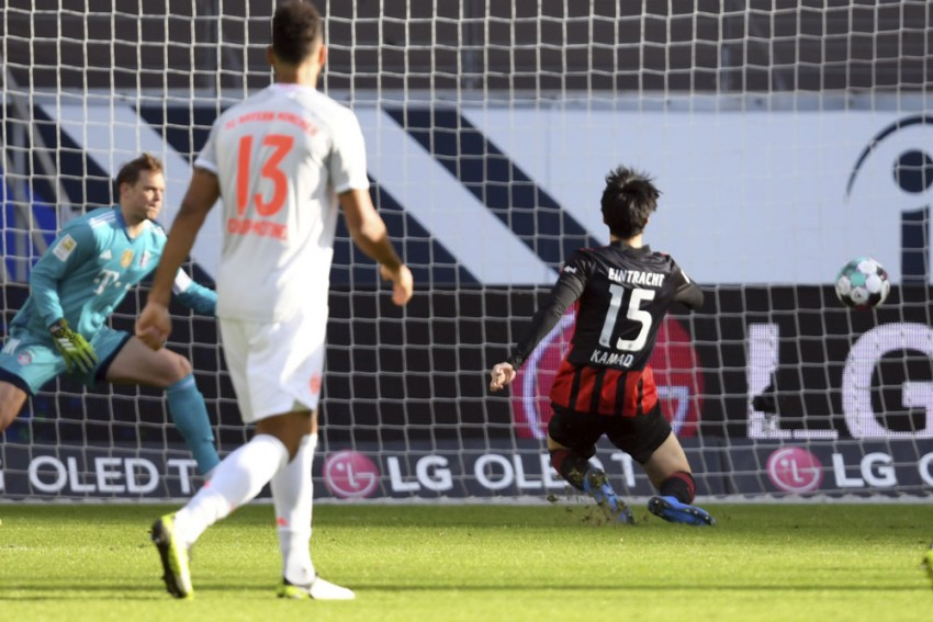 Eintracht Frankfurt 2-1 Bayern Munich: Amin Younes The Inspiration As Bundesliga Champions' Grip On Top Spot Is Loosened