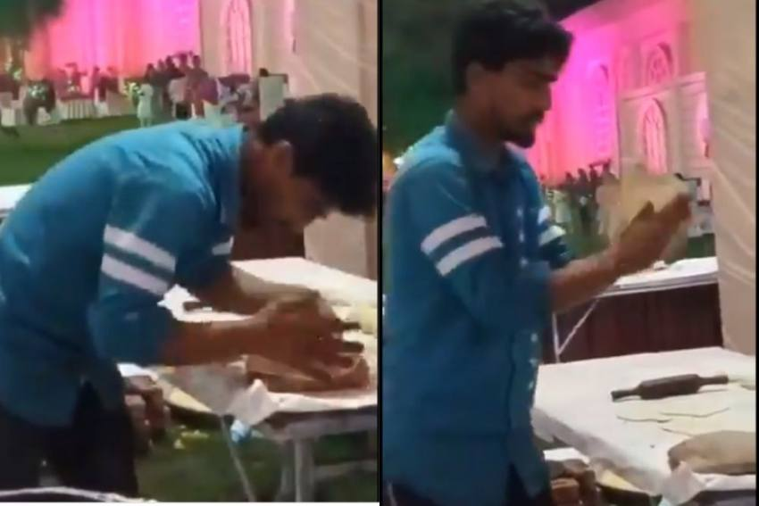 Watch: Man Spitting On Rotis At Wedding In Meerut, Arrested After Video Goes Viral
