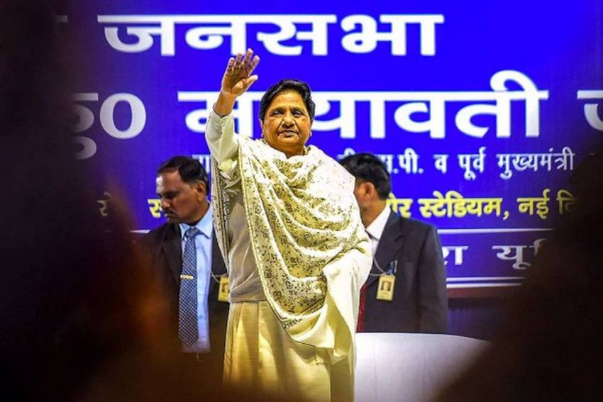 "Mayawati Calls UP Govt Budget ""Extremely Disappointing"""