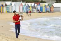 Novak Djokovic Glad To Silence Critics With Australian Open Trophy, Confirms Torn Oblique