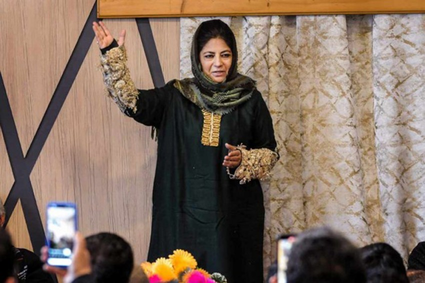 Elected PDP President For Three Years, Mehbooba Says She Will Continue To Raise Peoples' Issues