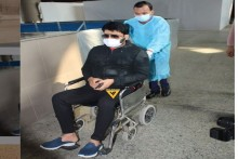 Comedian Kapil Sharma Spotted In Wheelchair At Mumbai Airport