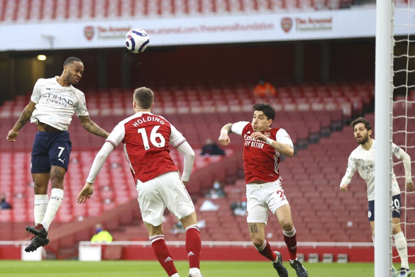 Arsenal 0-1 Manchester City: Raheem Sterling Strikes Early As English Premier League Leaders March On