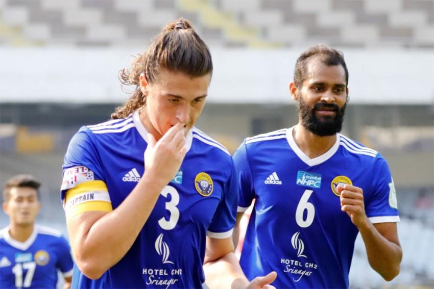 I-League: Mason Robertson's Brace Takes Real Kashmir To Top Table