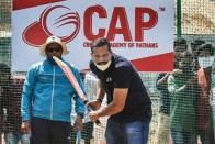 Yusuf Pathan Inaugurates Cricket Academy In Hyderabad