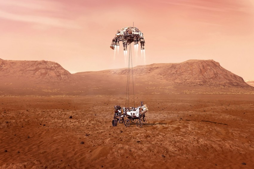 Watch: NASA Releases Mars Landing Video, Calls It 'Stuff Of Our Dreams'