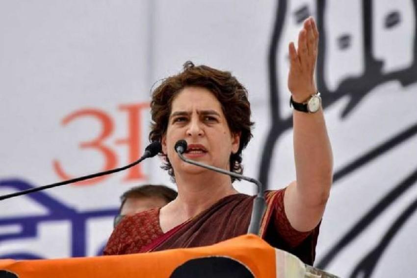 'Arrogant', 'Coward': Priyanka Gandhi Lashes Out At PM At Kisan Mahapanchayat