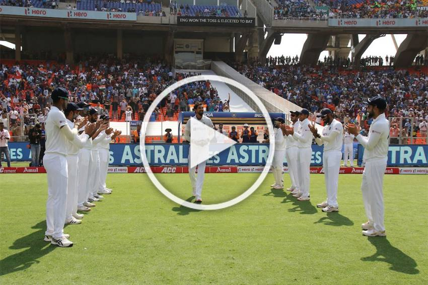 IND Vs ENG: Guard Of Honour Marks Ishant Sharma's 100th Test - WATCH