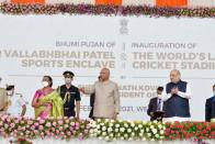 World's Largest Cricket Stadium In Ahmedabad Shows India's Capability: President Ram Nath Kovind