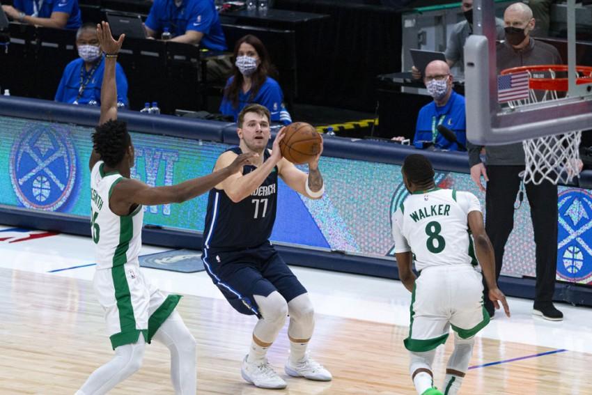 Luka Doncic Wired Like Michael Jordan, LeBron James And Kobe Bryant As Late Shot Sinks Celtics