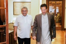 Pakistan PM Imran Khan Discusses Ways To Strengthen Trade Ties With Sri Lankan President