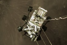 Mars Rover's Giant Parachute Carried Secret Message