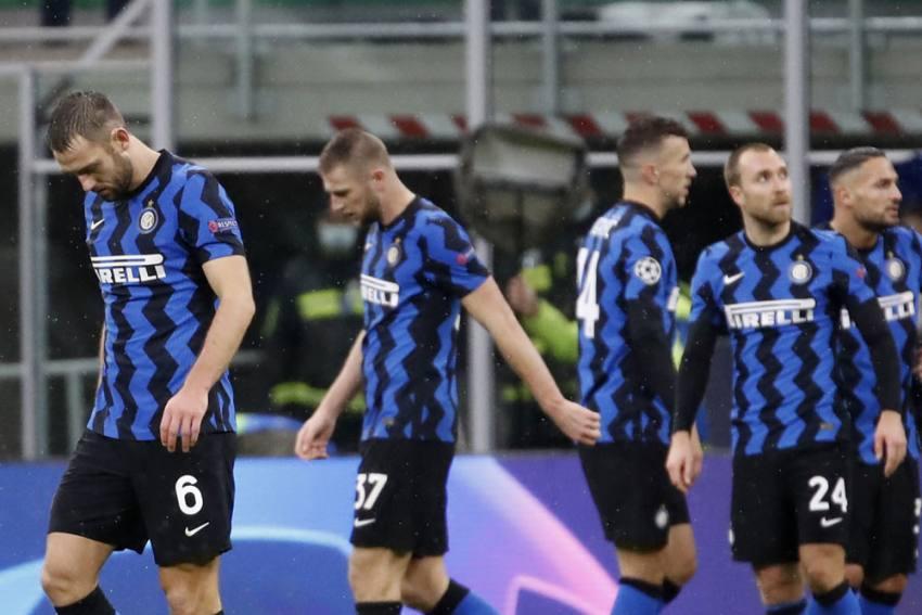 Five Inter Milan Staff Members Test Positive For Coronavirus