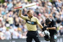 Martin Guptill Powers Up As New Zealand Hold Off Australia Fightback In Second T20