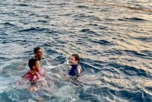 Rahul Gandhi Takes Dip Into Sea With Fishermen in Kerala; In Pics