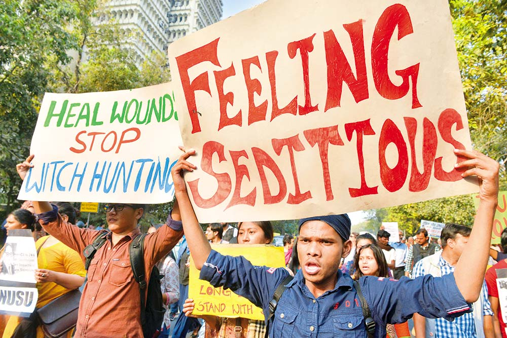Sedition: A Minatory Frown