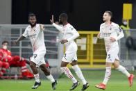Milan 1-1 Red Star Belgrade (3-3 agg): Kessie And Donnarumma Come Up Big As Rossoneri Edge Through
