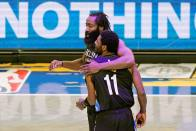 Irving And Harden Lead Nets To Eighth Straight Win, Westbrook And Beal Fire For Wizards In NBA
