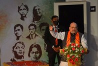 'Congress Had Appointed Narayanasamy As CM Because Of His Servitude To Gandhis': Amit Shah