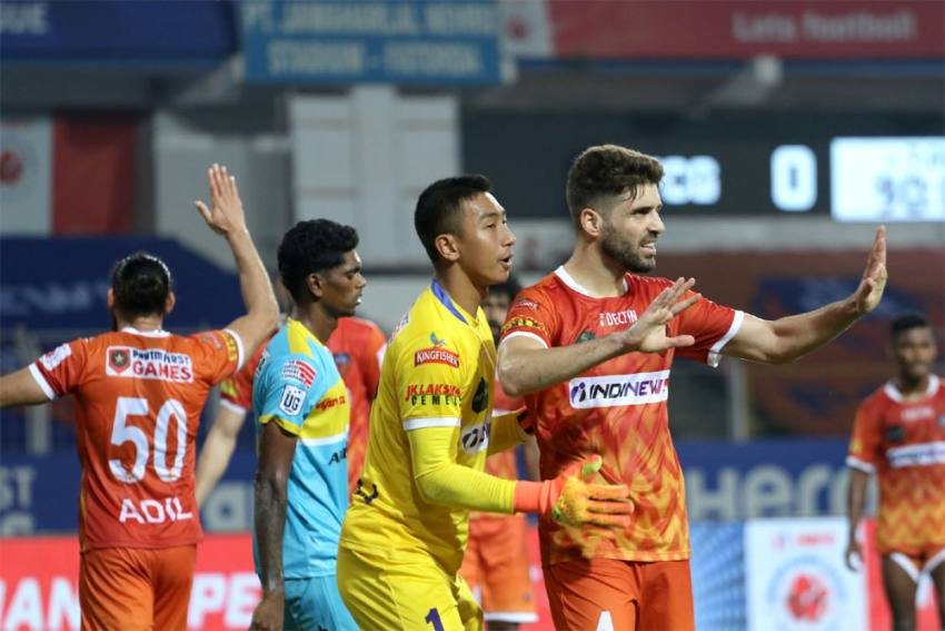 ISL 2020-21: FC Goa Hold Hyderabad To Enter Playoffs