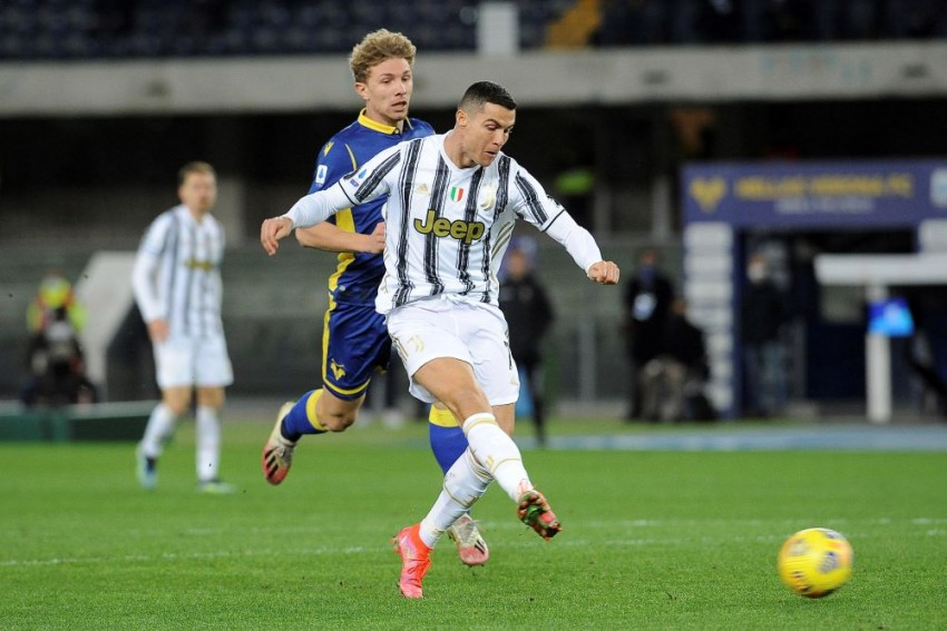 Hellas Verona 1-1 Juventus - Serie A Champions Frustrated By Barak Leveller