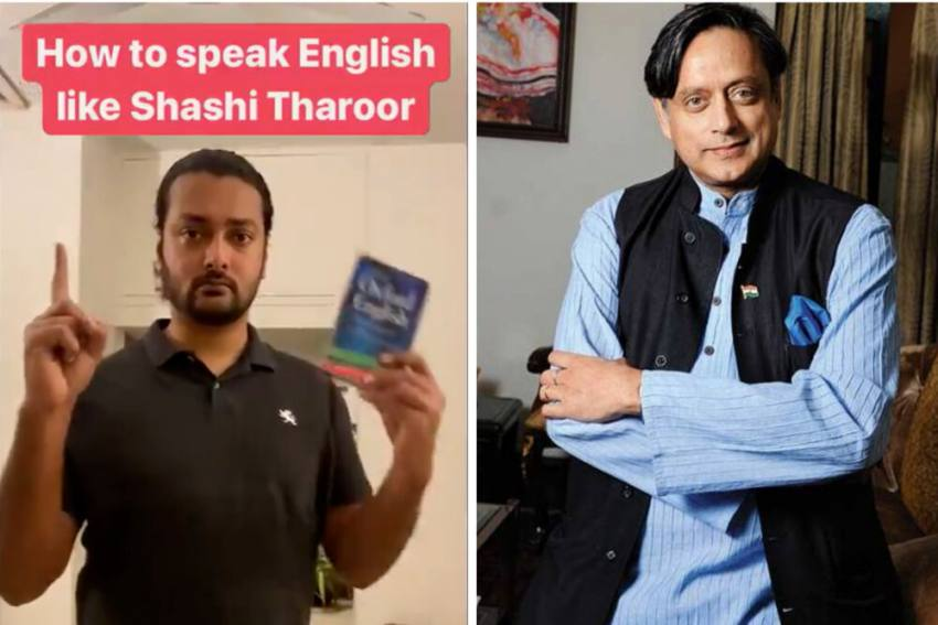 Watch: Viral Video Reshared By Shashi Tharoor On How To Speak Like Him
