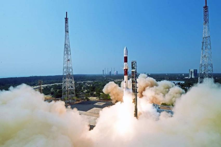 ISRO Launches First Mission Of 2021 With PSLV-C51 Carrying PM Modi's Photo, E-Gita