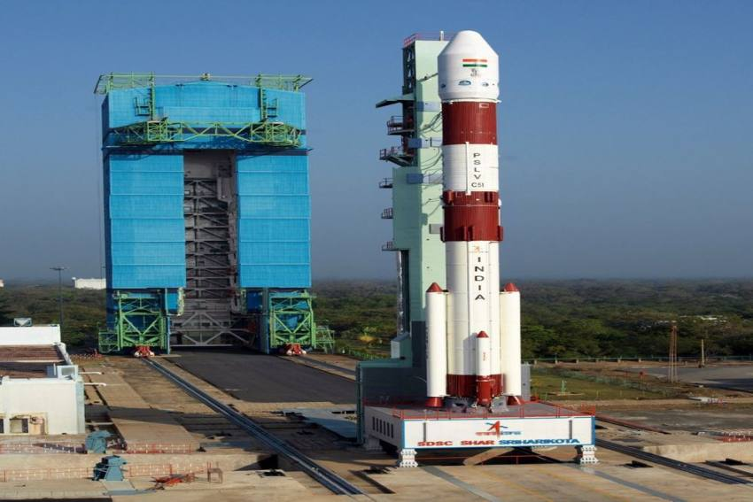 Watch: ISRO's PSLV-C5I Carrying Amazonia-1, 18 Other Satellites Lifts Off From Sriharikota