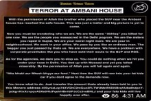 'Big Picture Is Yet To Come': Terror Outfit Claims Responsibility For Explosive-Laden SUV Outside Ambani's Residence