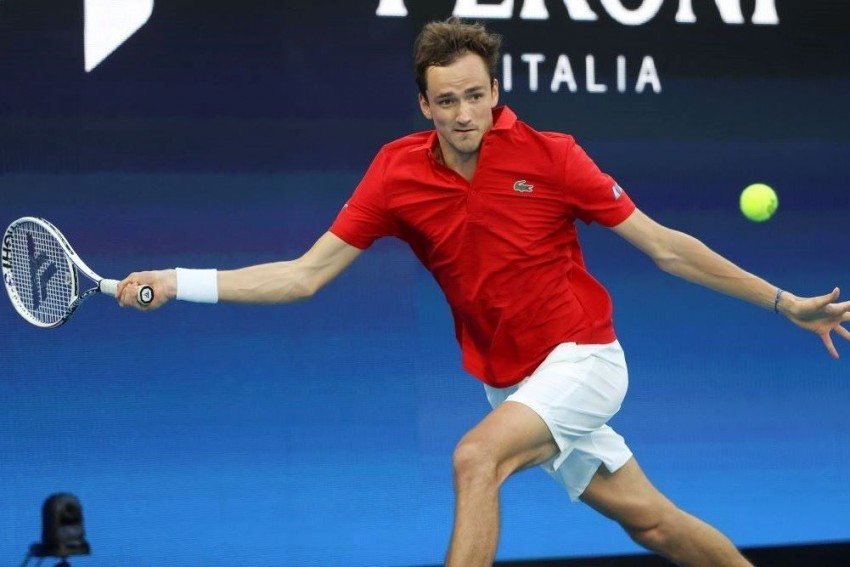 ATP Cup 2021: Daniil Medvedev And Andrey Rublev Send Ruthless Russia Through