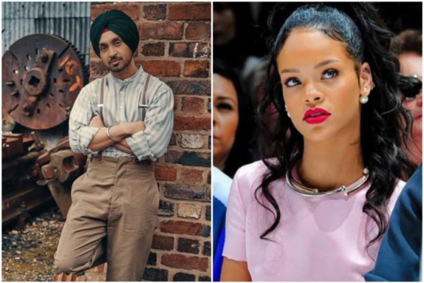 Watch: Diljit Dosanjh Joins Rihanna's Fan Club, Releases New Track 'RIRI'