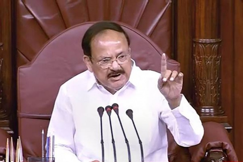 Venkaiah Naidu Warns Opposition MPs In Rajya Sabha Against Recording Video Of Proceedings On Mobile Phones
