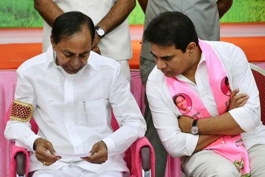 Is K Chandrasekhar Rao's Son KTR All Set To Take Over As Telangana Chief Minister?