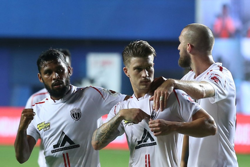 ISL 2020-21: Federico Gallego Runs The Show As NorthEast United Fight Back To Hold FC Goa
