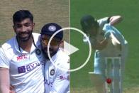 IND Vs ENG: Jubilation For India As 'Debutant' Jasprit Bumrah Takes First Test Wicket On Home Soil - WATCH