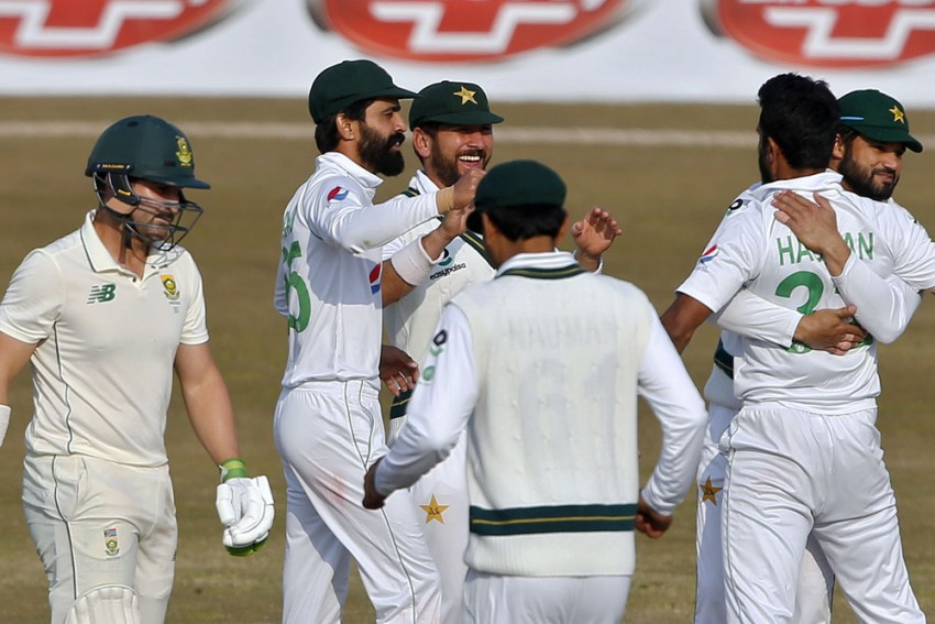 PAK Vs SA, 2nd Test: Hasan Ali Strikes To Leave South Africa Struggling Again Despite Anrich Nortje Haul - Day 2 Report