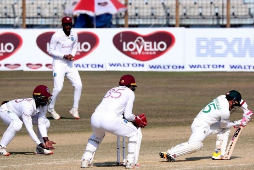 BAN Vs WI, 1st Test, Lunch: Bangladesh's Lead Over West Indies Swells To 320 runs
