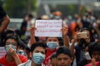 Protests Against Coup Expand; Myanmar Junta Blocks Internet Access