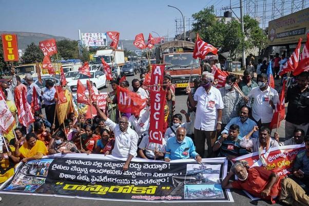 Farmers' Protest: Highways Blocked In Telangana As Part Of 'Raasta Roko'