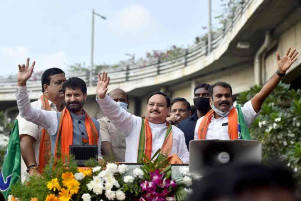 West Bengal: JP Nadda To Launch BJP's Rath Yatra Today