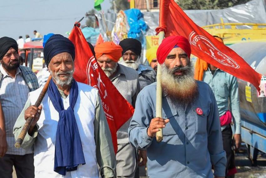 Farmers' Chakka Jam: Protesters Block Highways, Roads In Punjab, Haryana