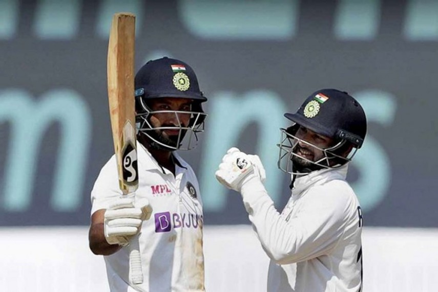 Fire and Ice, Pant and Pujara both scored crucial fifties for India on Day 3