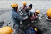 Watch: Slogans Like 'Dum Lagakey Haisha' Raised As ITBP Rescues Workers In Uttarakhand Floods