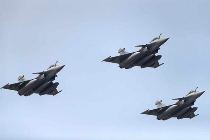 Induction Ceremony Of Five Rafale Jets Cost Government Rs 41 Lakh: Rajnath Singh