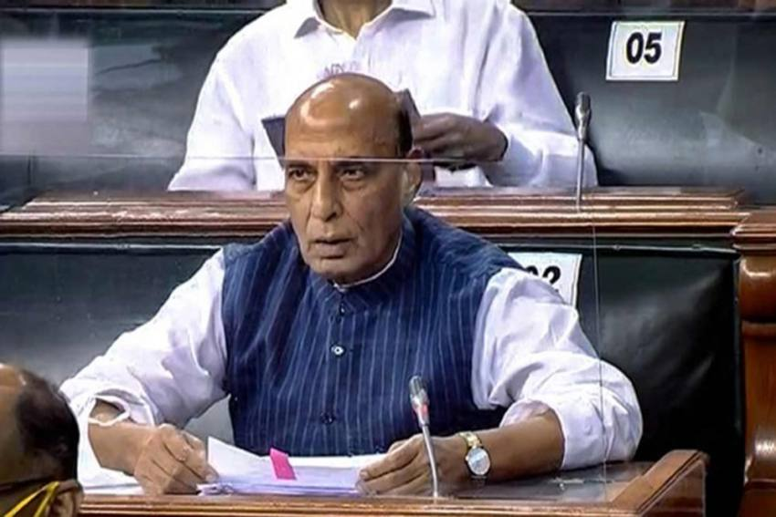 Security Forces Have Restricted Pakistan's Acts To Border Only: Rajnath Singh