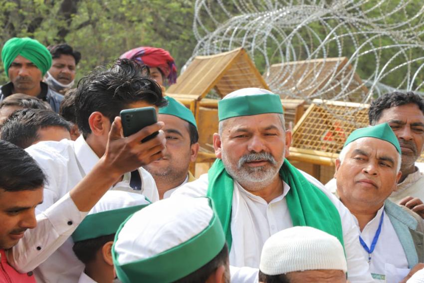 'Desh Mein Bhook Pe Vyaapaar Nahi Hoga': Rakesh Tikait
