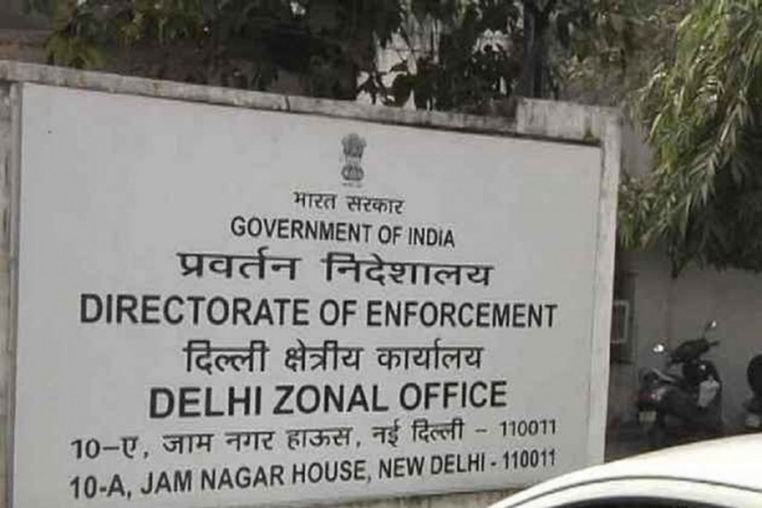 ED Conducts Searches At Premises Of Delhi-Based News Portal
