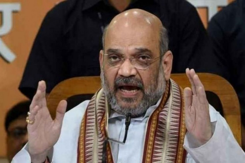 Home Minister Amit Shah Receives First Dose Of Covid-19 Vaccine